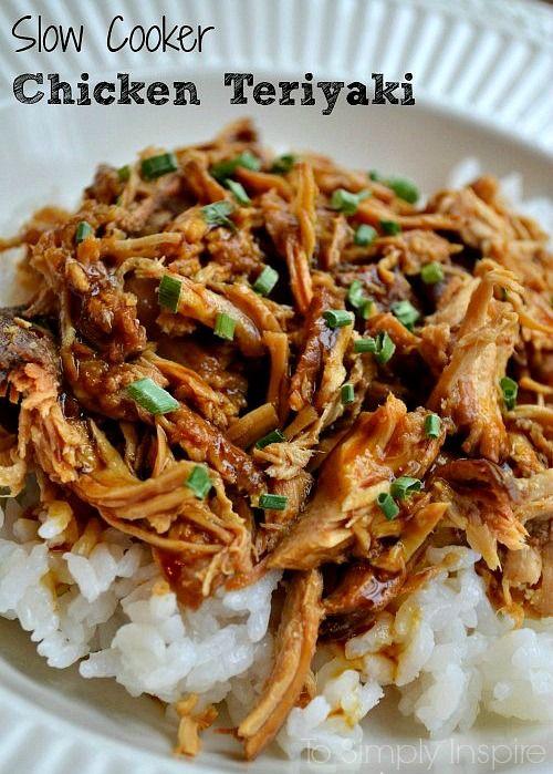 Slow-Cooker-Chicken-Teriyaki2; slight variation to make it healthier (liquid aminos instead?)