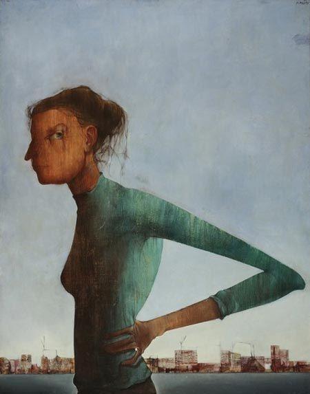 mikuláš medek - žena a město