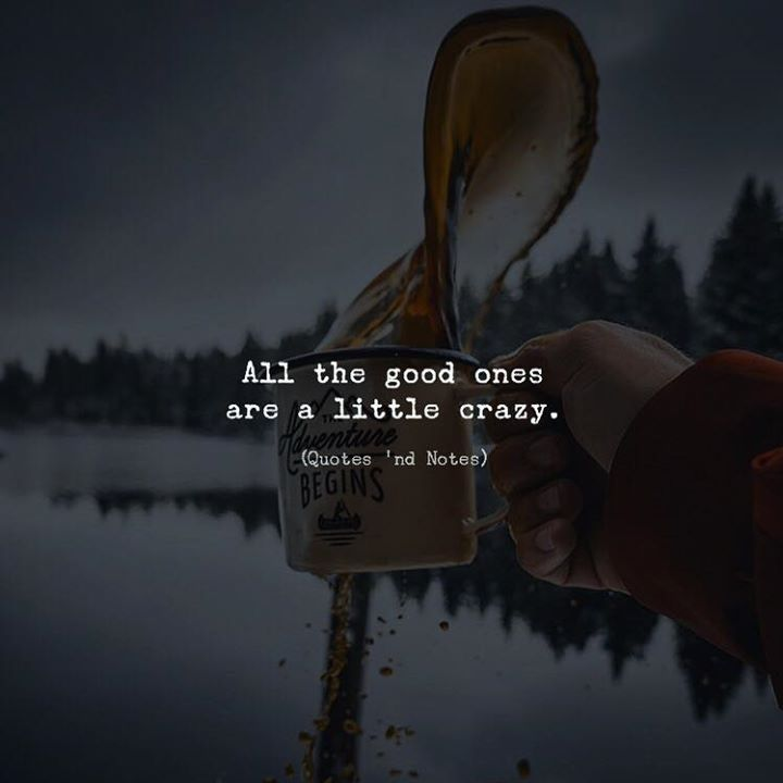 All the good ones are a little crazy.    by: Stefan Eggli via (http://ift.tt/2qn9Ylw)
