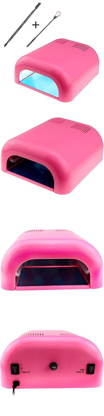 Nail Dryers and UV LED Lamps: Professional Uv Nail Dryer Machine 36 Watt Light Lamp Gel Fan Timer Salon Safe BUY IT NOW ONLY: $87.13