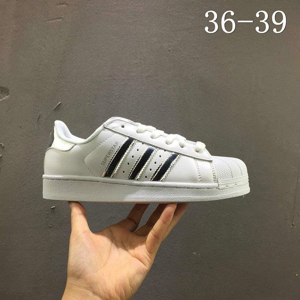 Colega Mejorar Mala fe  Populaire Adidas Superstar White blanc Silver AQ3091 | Adidas superstar  white, Adidas superstar, Superstar