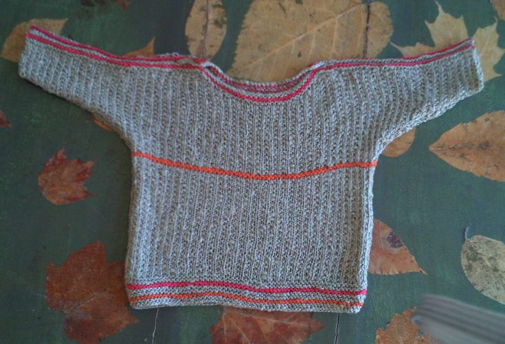 ALESSANDRA, knitting kit for a baby jumper from domoras