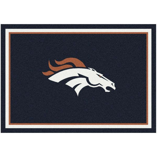 """Denver Broncos 92"""" x 129"""" Spirit Rug - $399.99"""