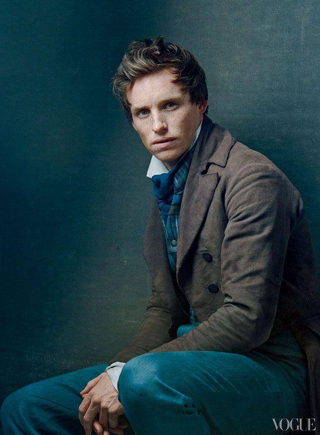 "Eddie Redmayne as Marius, ""Les Miserables"" by Annie Leibovitz. Vogue December 2012."