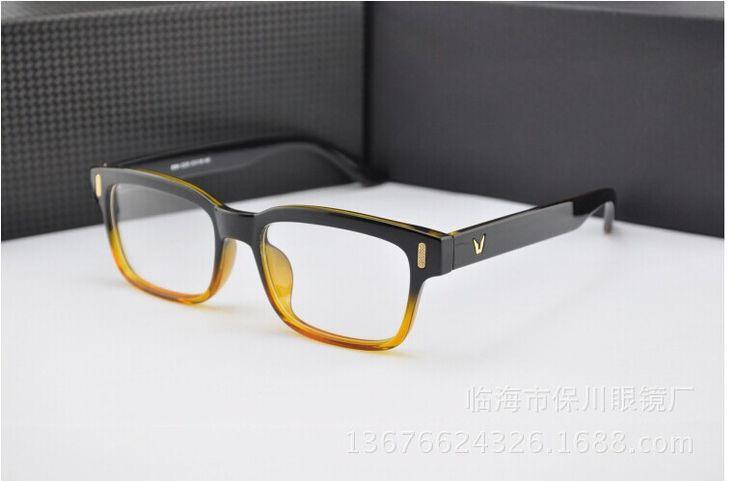 Fashion Optical Frame Eyeglasses Women Men Clear Transparent Glasses Young People Large Square Frame Prescription Glasses Like it? Visit our store