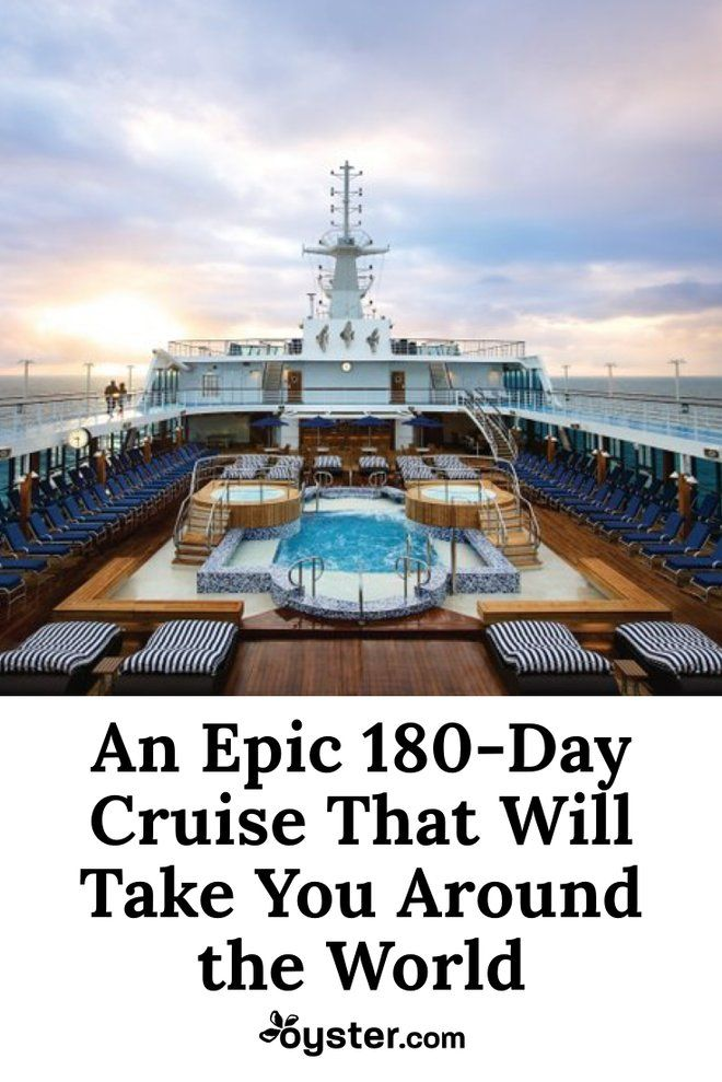 French novelist Jules Verne might have been ambitious by proposing a journey around the world in 80 days, but we're taking our time and giving ourselves six months to circumnavigate the globe. Or rather, Oceania Cruises is giving folks the opportunity to do so. The company recently announced a 180-day world cruise that will depart from three destinations in 2019 giving you plenty of time to gain your sea legs.