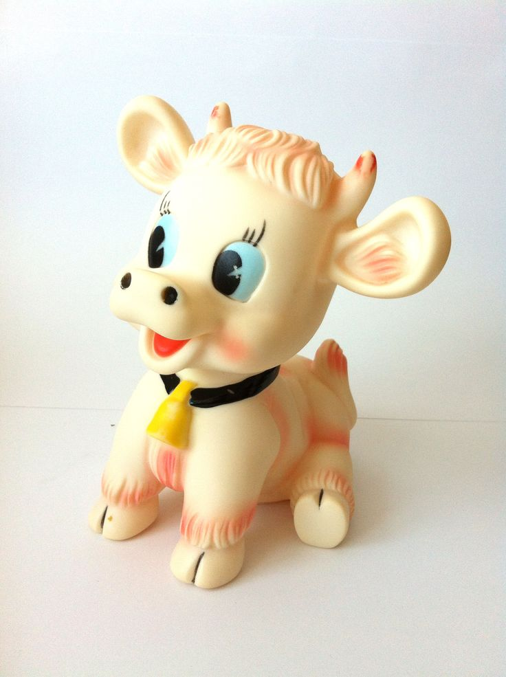 Vintage rubber toy.