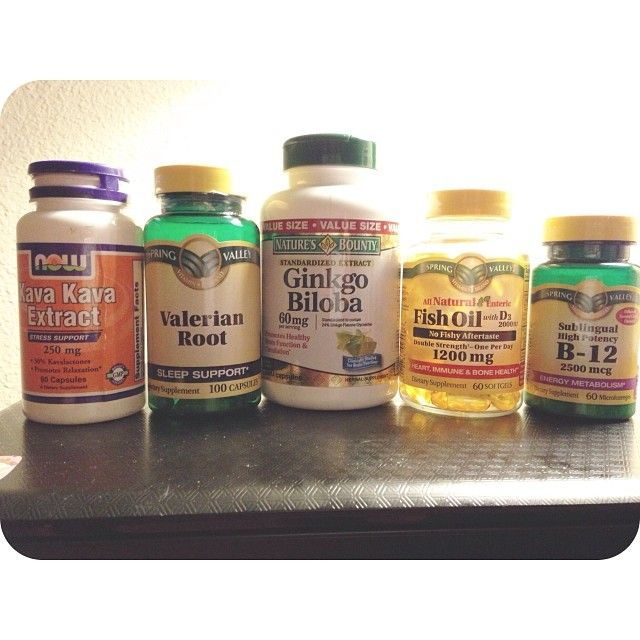 Natural supplements for anxiety, depression, and depersonalization.