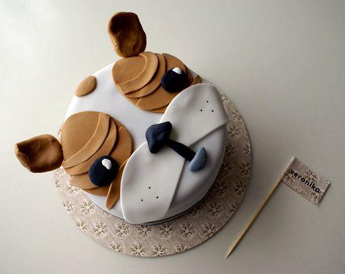 bull dog cake - Google Search