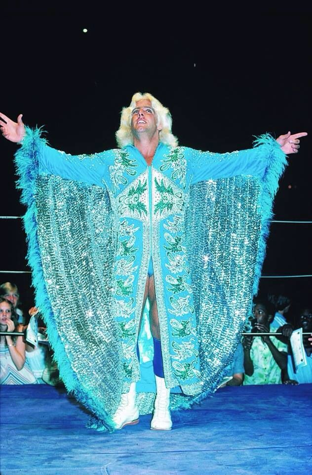 16x World Heavyweight Wrestling Champion - Ric Flair