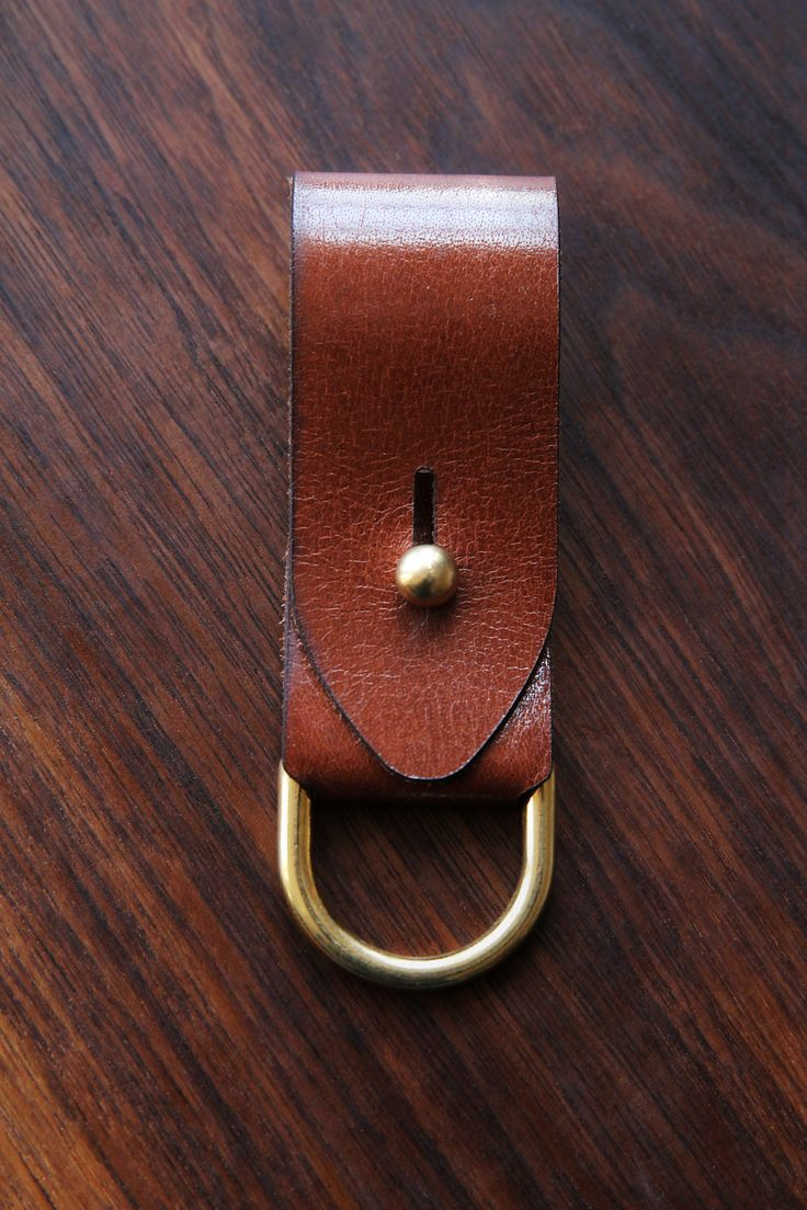Spencer Collection Leather Key Fob by Design Unsanctioned