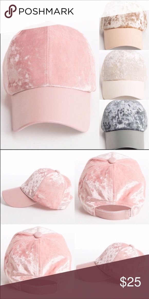 trendy baseball hat velvet cap pink gray leather ladies caps either adjustable specify color fashion uk hats 2017