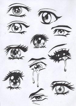 Anime eyes                                                                                                                                                                                 Plus