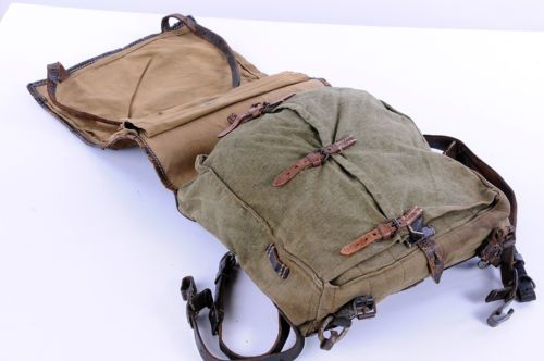 Original-German-Army-WW-II-Backpack-Tornister-Affe-Complete-In-Good-Condition