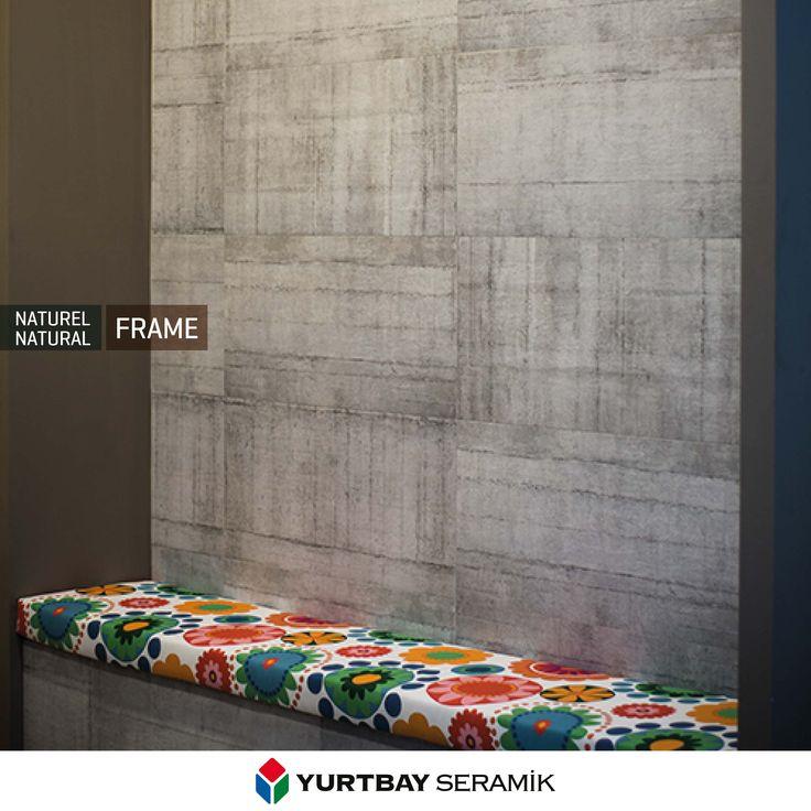 Modern yaşam alanlarına Frame Serisi'nin beton görünümü ile sadelik ve yenilik katın.