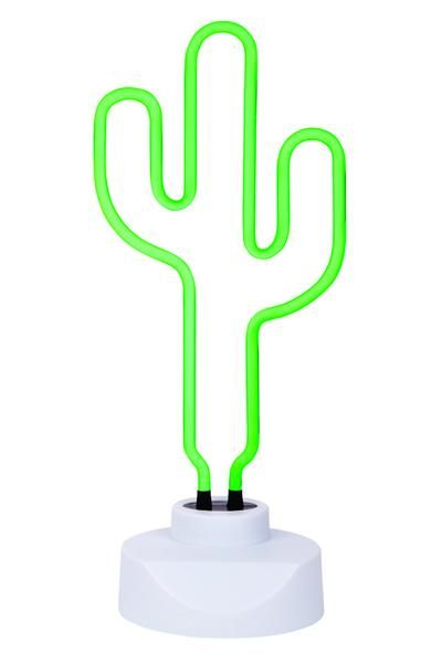 Neon Light Cactus Large