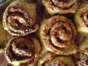 Gluten Free Dairy Free No Yeast Cinnamon Rolls 2sm. Could be low histamine with blueberry filling instead of cinnamon