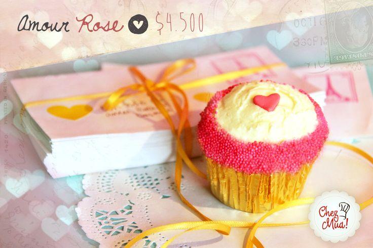 ¡Amour Rose!   Para los amantes a las historias color de rosa, que a todos, algún día de nuestras vidas nos han hecho soñar y suspirar.  #amor #amistad #calico #cupcakes