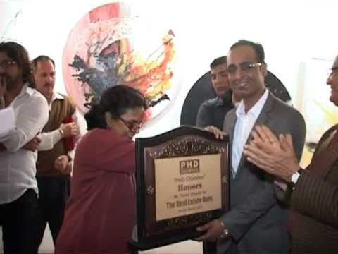 PHD Chamber of Commerce, Corporate Fraternity and Ministry of Art & Culture honors Mr. Tarun Shienh, Real Estate Guru on 8th March 2013