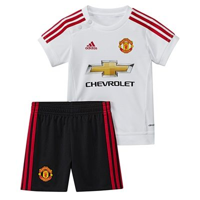 Adidas Manchester United Away Baby Kit 2015/16 White Manchester United Away Baby Kit 2015/16 - WhiteDress your little one with club pride from head to toe in this Manchester United Away Baby Kit.Styled with the clubs crest onto the kit for team pride an http://www.MightGet.com/april-2017-2/adidas-manchester-united-away-baby-kit-2015-16-white.asp