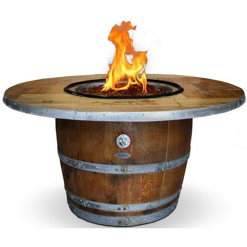 Found it at Wayfair - Enthusiast Wood Fire Pit Table
