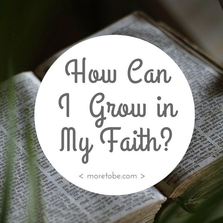 How do I grow in my faith when I'm too busy to read the Bible? Click through for ideas! #Bible #BibleReading #Faith #Christian