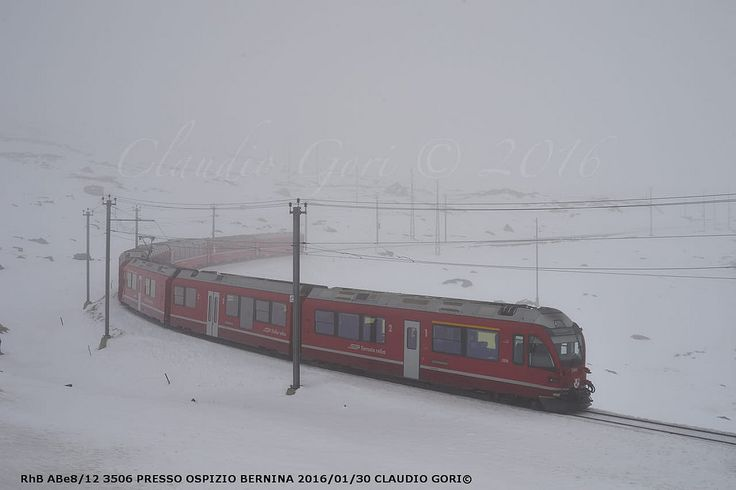 https://flic.kr/p/GgEt62 | RhB-3506-Ospizio-CG-16-01-30-DSC_4810 | Nebbia ad alta quota.