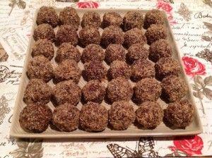 Paleo Chocolate and Coffee Balls