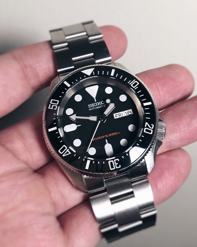 Fun fact - we just launched our lumed DSSD ceramic bezel insert over
