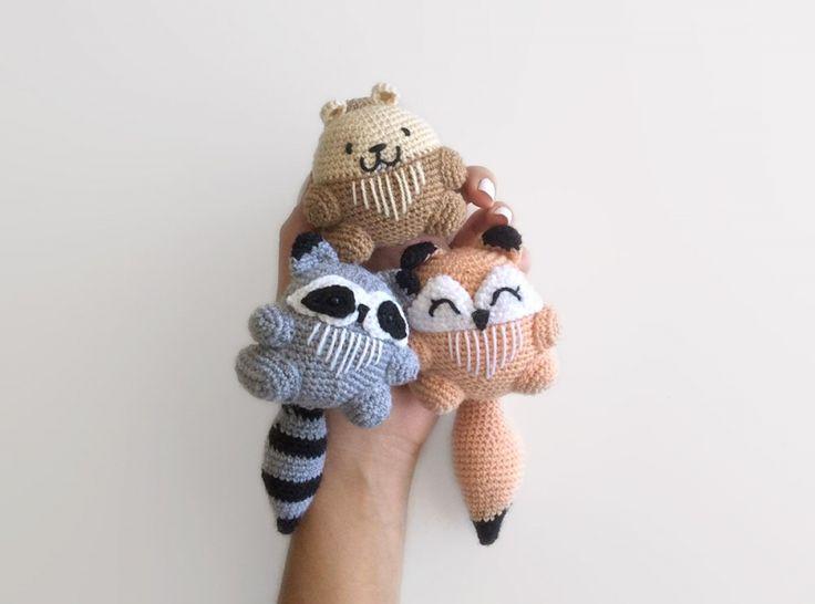 Amigurumi Patterns For Sale : Best amigurumi forest animals images amigurumi