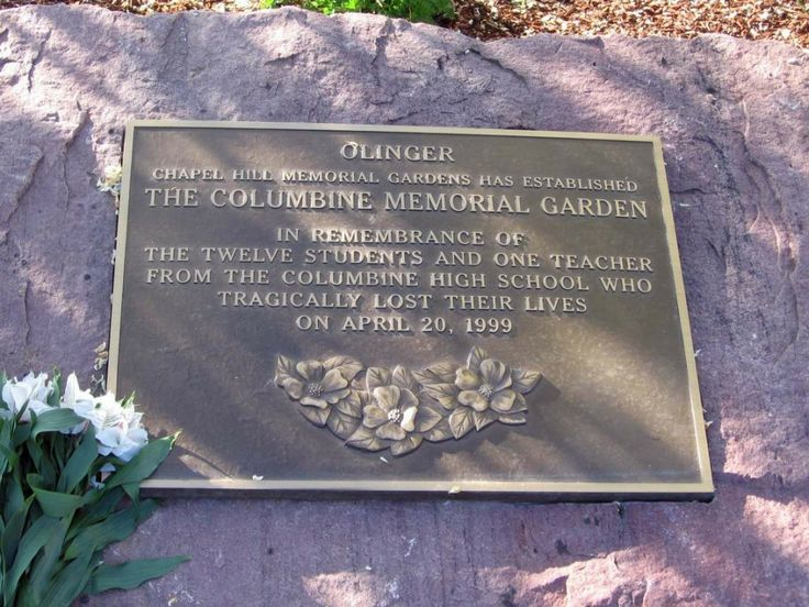 Columbine High School | Memorial Garden