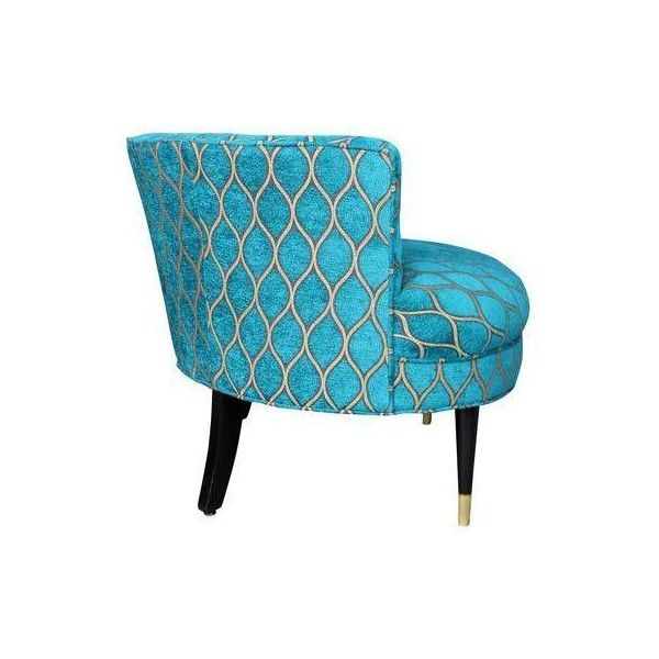 Best Peacock Mid Century Barrel Back Armchair Liked On Polyvore 400 x 300
