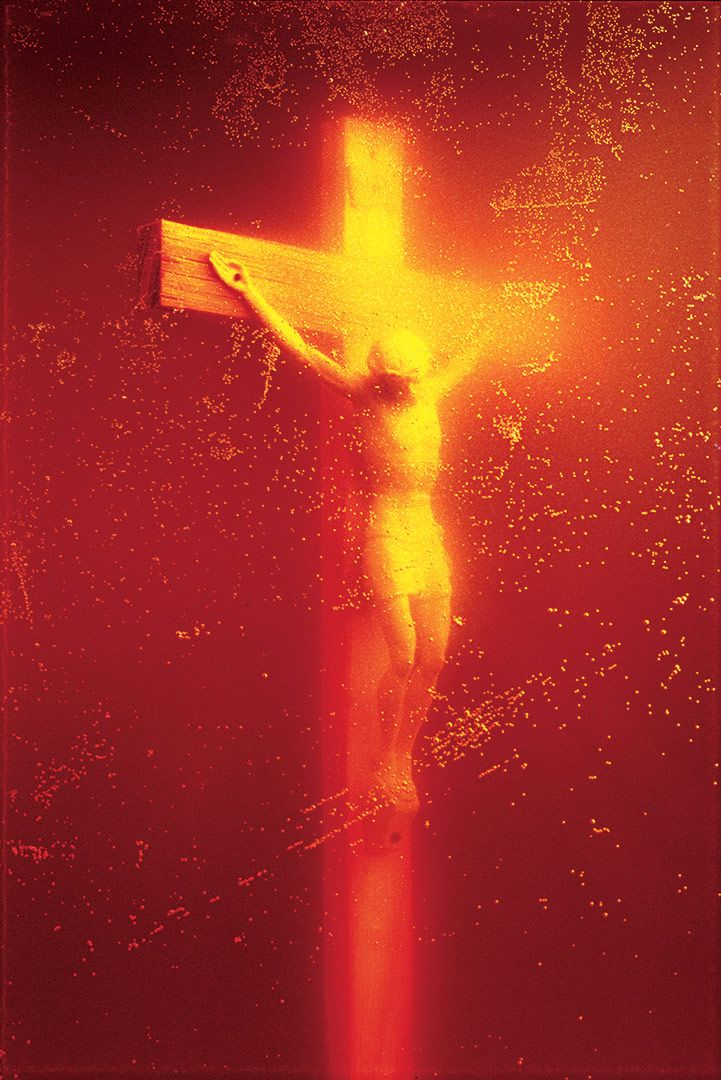 Immersions (Piss Christ) by Andres Serrano