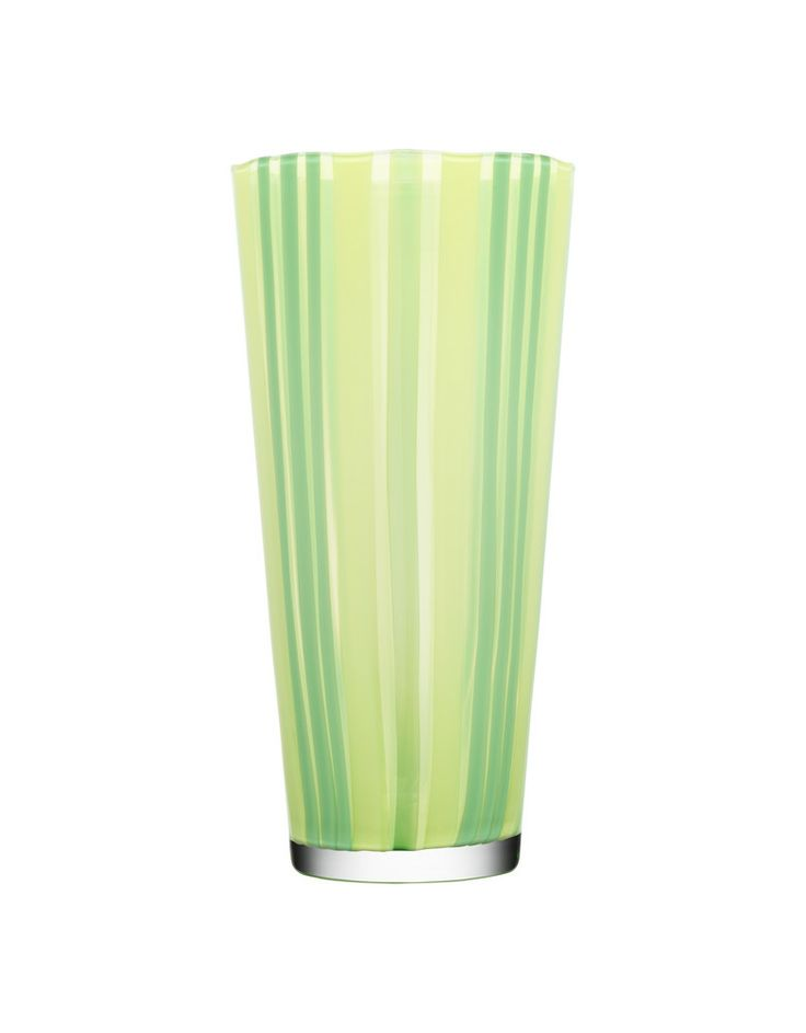 Cabana vase lime, design by Ludvig Löfgren for Kosta Boda