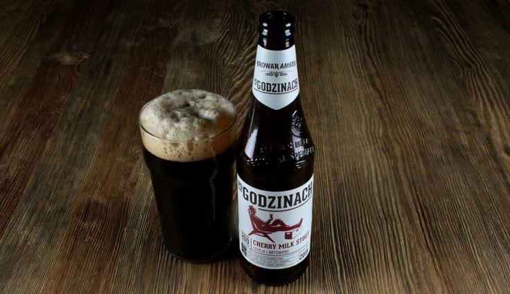 Amber Po Godzinach Cherry Milk #Stout #beer #piwo #craftbeer #browaramber #amber #milkstout #polishcraftbeer #polishbeer