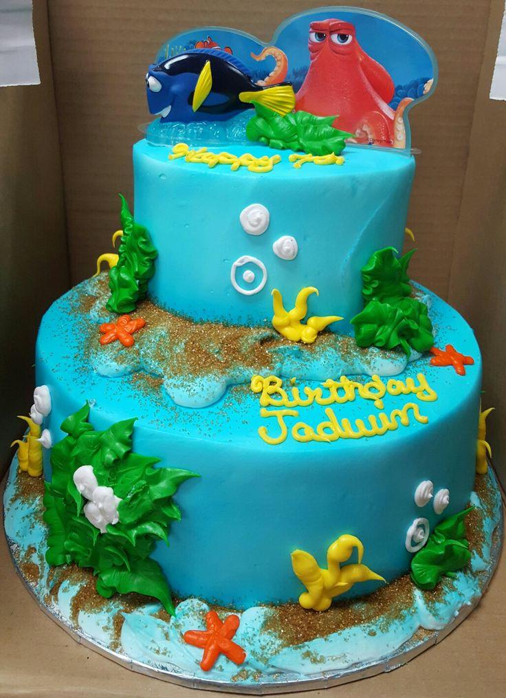 ... Dori Cake on Pinterest | 1st birthday cakes, Finding nemo and Cartoon