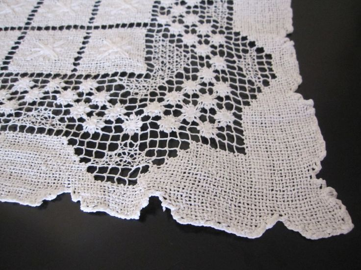 Antique Tablecloth U2013 Handmade Lace | Cool Shopping