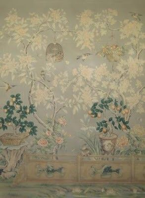MS Design Maven: ALWAYS Chic Chinoiserie, Paper or Paint?, Part I