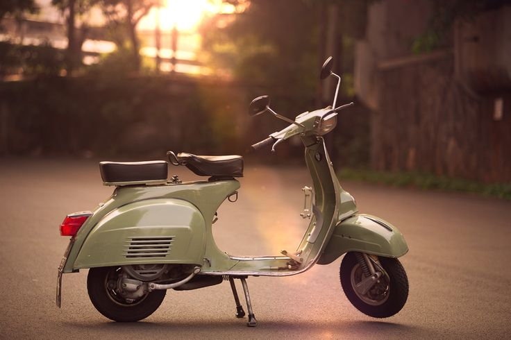 Sunset withVespa