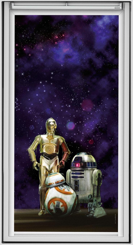 Barna vil elske de nye Star Wars-blendegardinene - Byggmakker+
