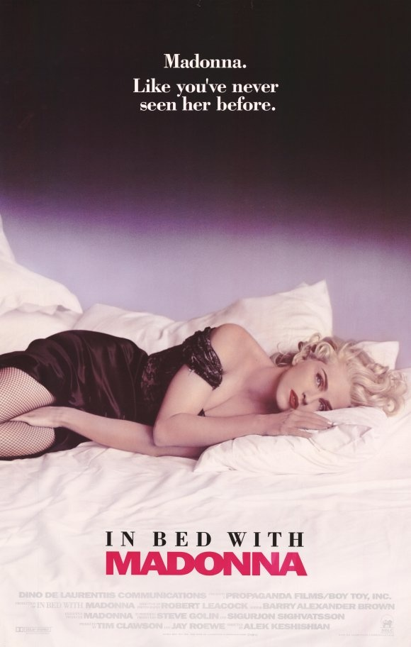 "Madonna by Meisel. ""In bed with Madonna"" Movie Poster"