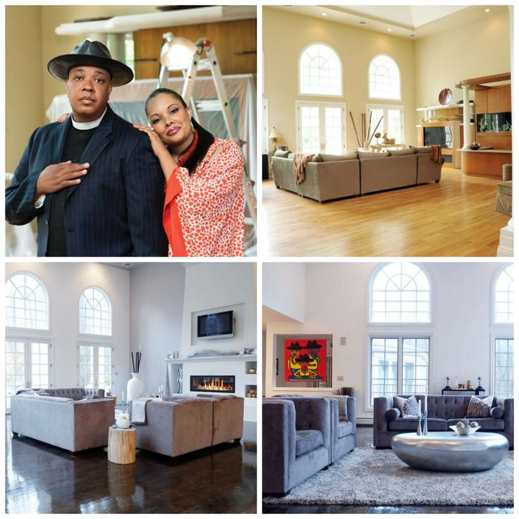 Browse before and after photos at Rev Run's Renovation >> http://www.diynetwork.com/tv-shows/rev-runs-renovation-a-great-room-conversion/pictures/index.html?soc=pinterest: House Tours, Famous House, Hop Families, Apartment Design, Families Gods, Interiors Design, House Savvy, Residential Interiors, Families Rooms