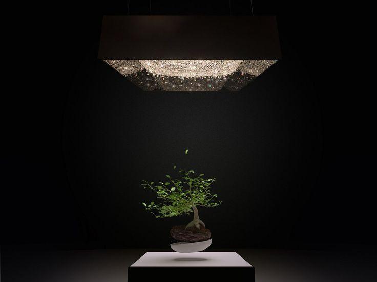 DEEP SKY Crystal pendant lamp by Manooi