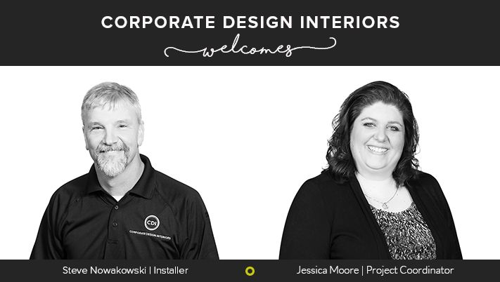We are delighted to announce the addition of Jessica Moore & Steve Nowakowski to our CDI Team. Read more... https://corporatedesigninteriors.wordpress.com/2017/03/17/cdi-welcomes-moore-nowakowski/