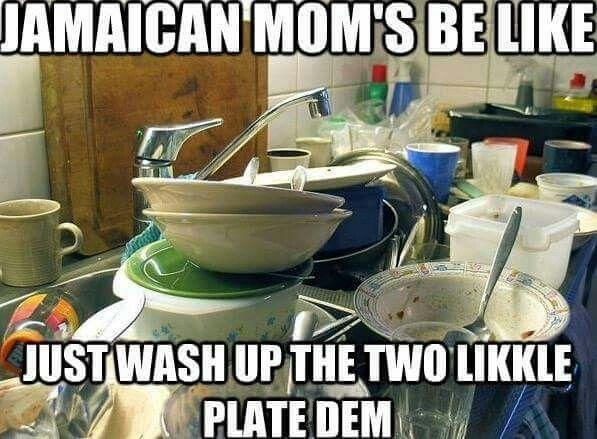 Jamaican Mom's be like....