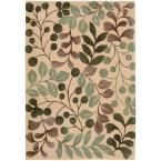 Contour Vanilla (White) 7 ft. 3 in. x 9 ft. 3 in. Area Rug