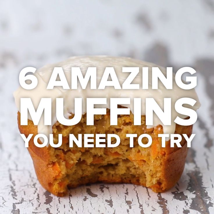 6 Amazing Muffins You Need To Try // #muffins #breakfast #blueberrymuffin #carrotcakemuffin #pastry #Goodful