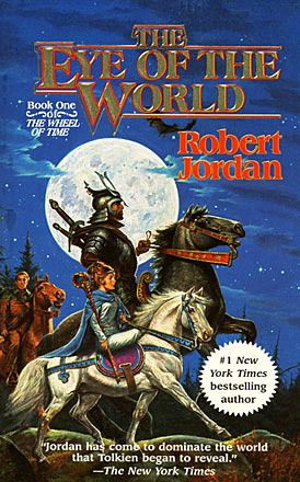 Wheel of Time series by Robert Jordan- On book 4 now similar to Lord of the Rings only the main characters are taller.