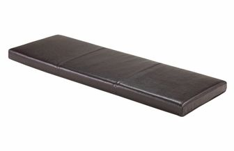 Boris Faux Leather Bench Seat Cushion - Espresso, 92303 by Winsome Wood | BizChair.com