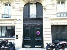 Apartment building where Jim Morrison died.  17 Rue Beautreillis Paris, France 75004.